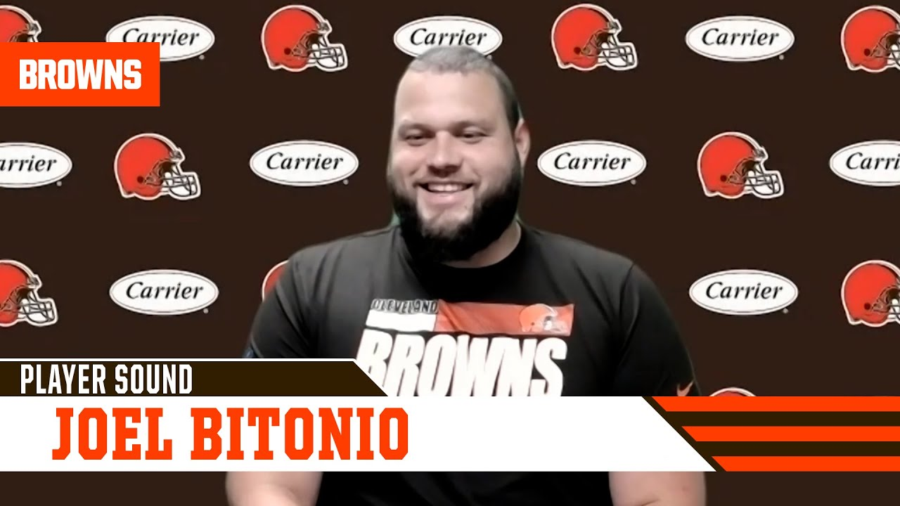 """Joel Bitonio: """"This is a big year for us, a big year for [Baker]."""""""