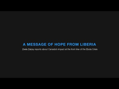 A Message of Hope from Liberia: Zeela Zaizay | effect:hope