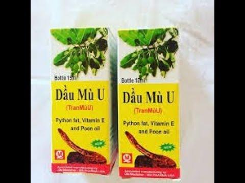 Dau Mu U жир питона от ожогов с витамином Е (15 мл)