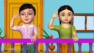 Good Morning - 3D Animation English Nursery rhyme for children with lyrics