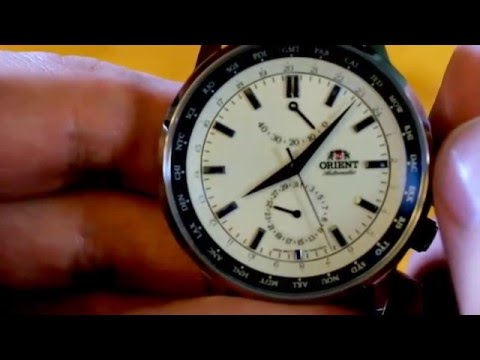 Orient Adventurer World Time Watch Review - Model FFA06003Y0