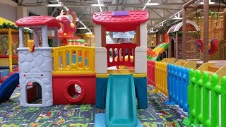 Indoor kids playground at Penny