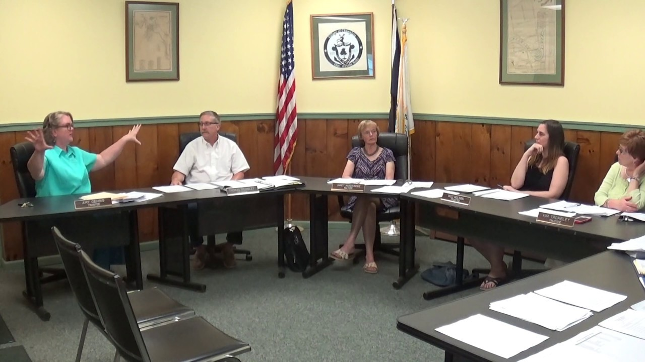 Champlain Village Board Meeting  6-10-19