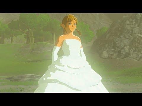 CROSS-DRESSING LINK GETS A MAKEOVER!? Runaway Bride Link (Zelda: Breath of the Wild Mod)