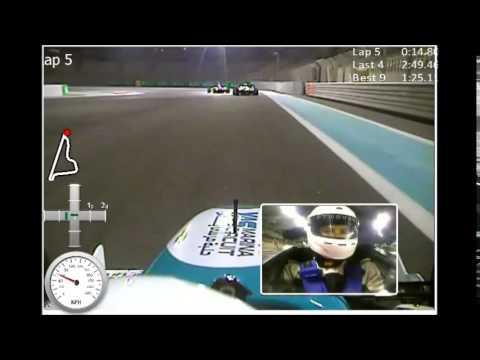 Formula Yas 3000, Yas Marina Circuit, Abu Dhabi, UAE