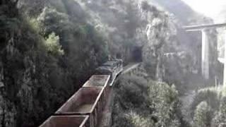 DFH21 Diesel Locomotive on Yunnan-Vietnam Railway