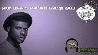 Larry Levan @ Paradise Garage