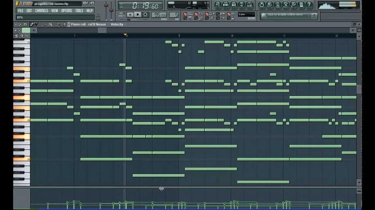 Piano Beat Composition by Dj Plague [FL Studio 9] FREE FLP DOWNLOAD