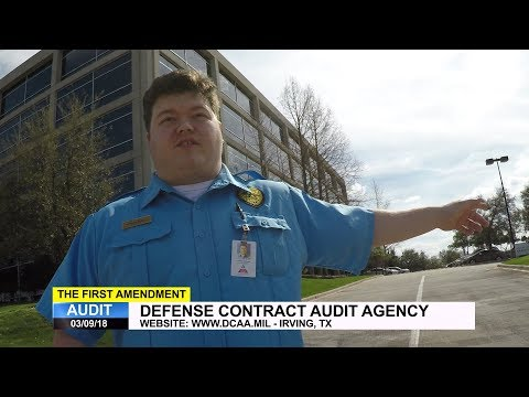First Amendment Audit - Defense Contract Audit Agency (DCAA) - Irving, TX