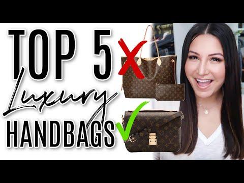 TOP 5 LUXURY HANDBAGS - 5 Minute Friday   LuxMommy