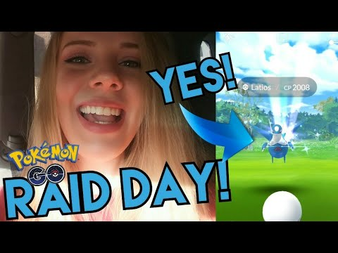 LATIOS RAID! A Day of Raiding for Pokemon GO Mythical Discovery Quest!