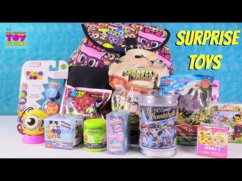 Disney Gravity Falls Fashems Crossy Road Minions Surprise Toy Backpack | PSToyReviews