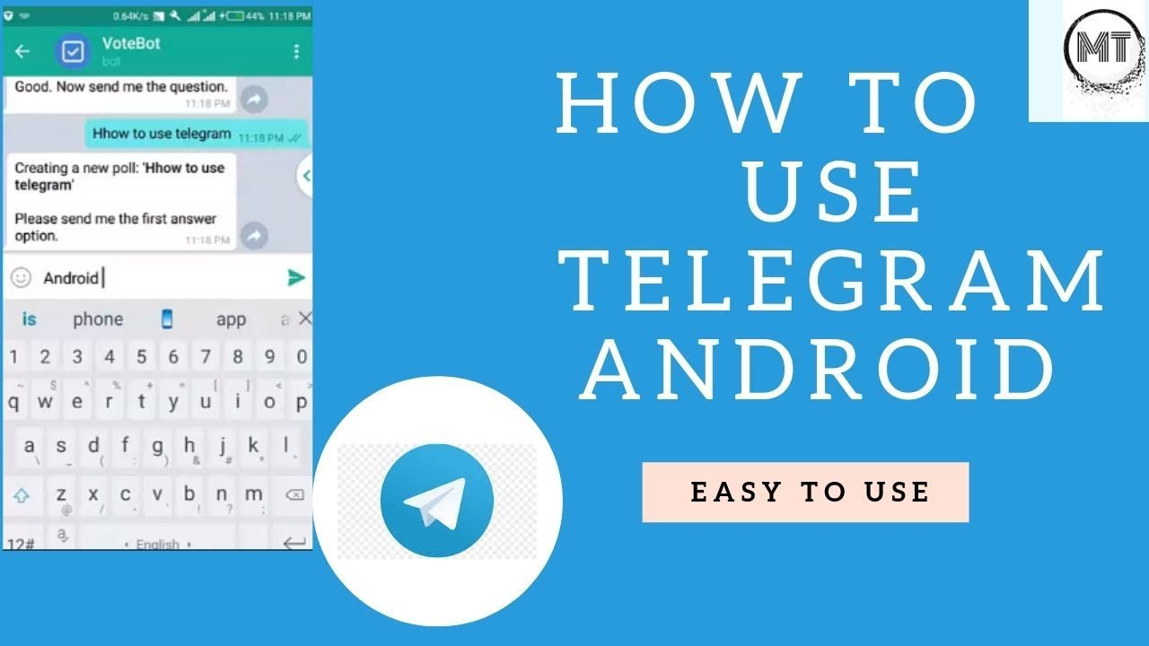 How To Use Telegram Android 1