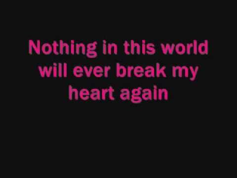Nothing In This World Will Ever Break My Heart Again - Hayden Panettiere