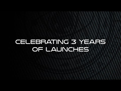 Celebrating Three Years of Launches