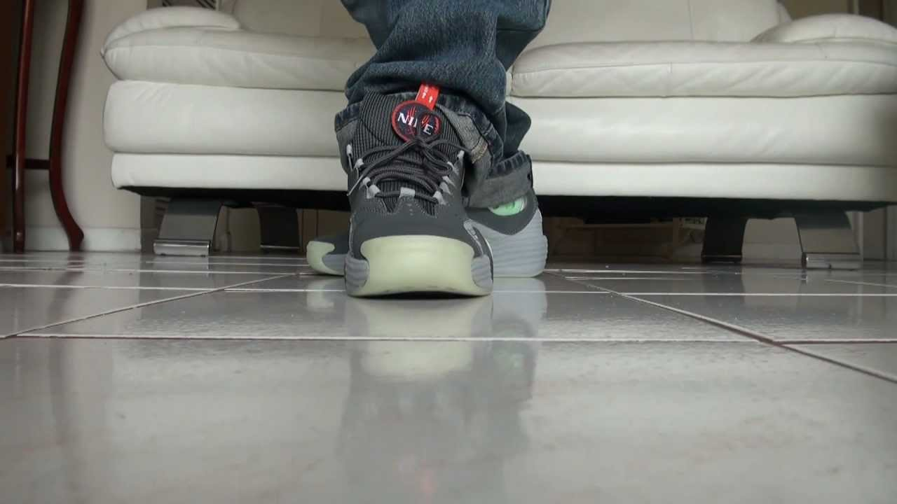 outlet store e695f a3ccf Nike Penny Galaxy Air Flight One on feet review