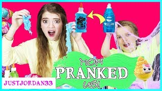 We Got Pranked! She Cheated! Cotton Candy Cuties Easter Slime Treats / JustJordan33