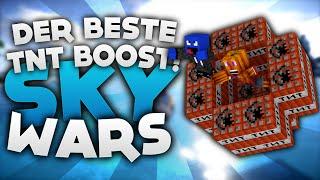 Der BESTE TnT BOOST! - Minecraft Sky Wars! | DieBuddiesZocken