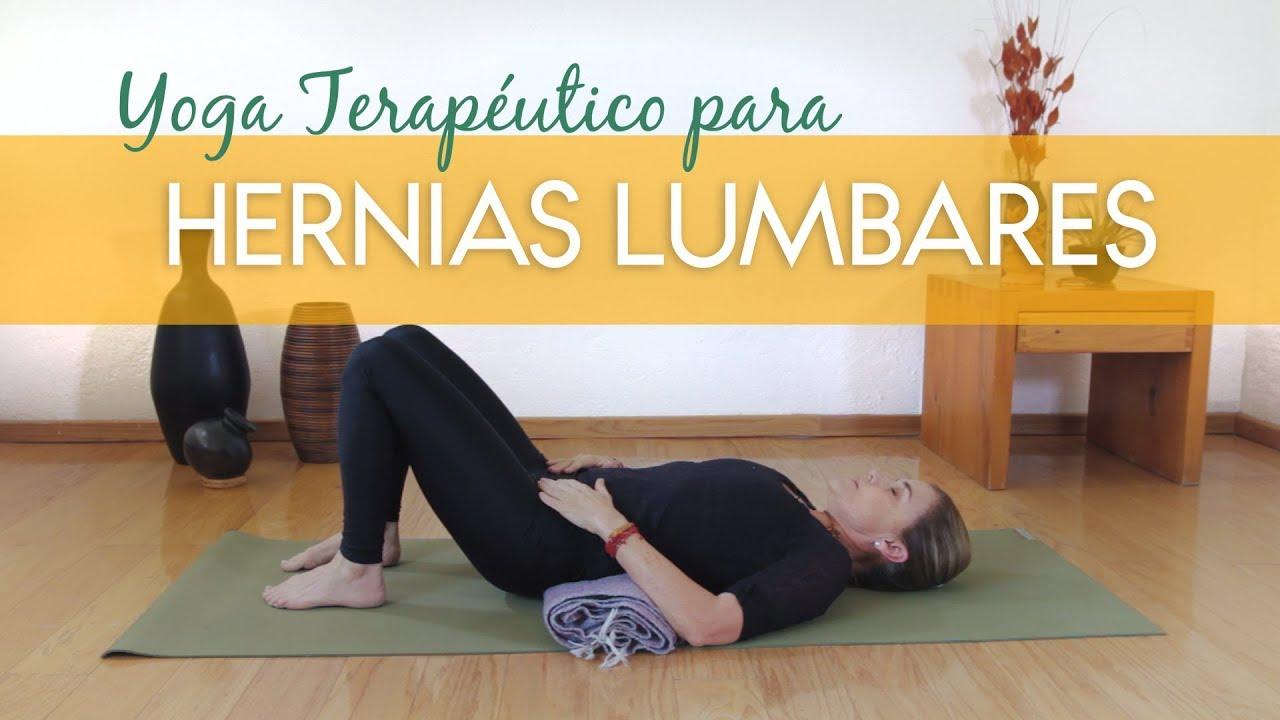 Yoga Terapéutico Para Las Hernias Lumbares Youtube
