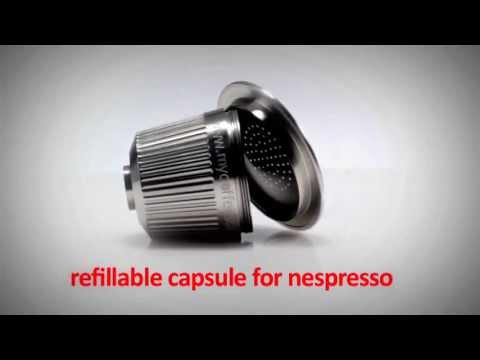 refillable capsule for nespresso in. Black Bedroom Furniture Sets. Home Design Ideas