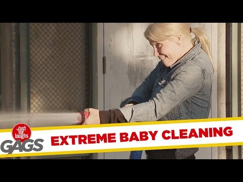 Extreme Baby Cleaning