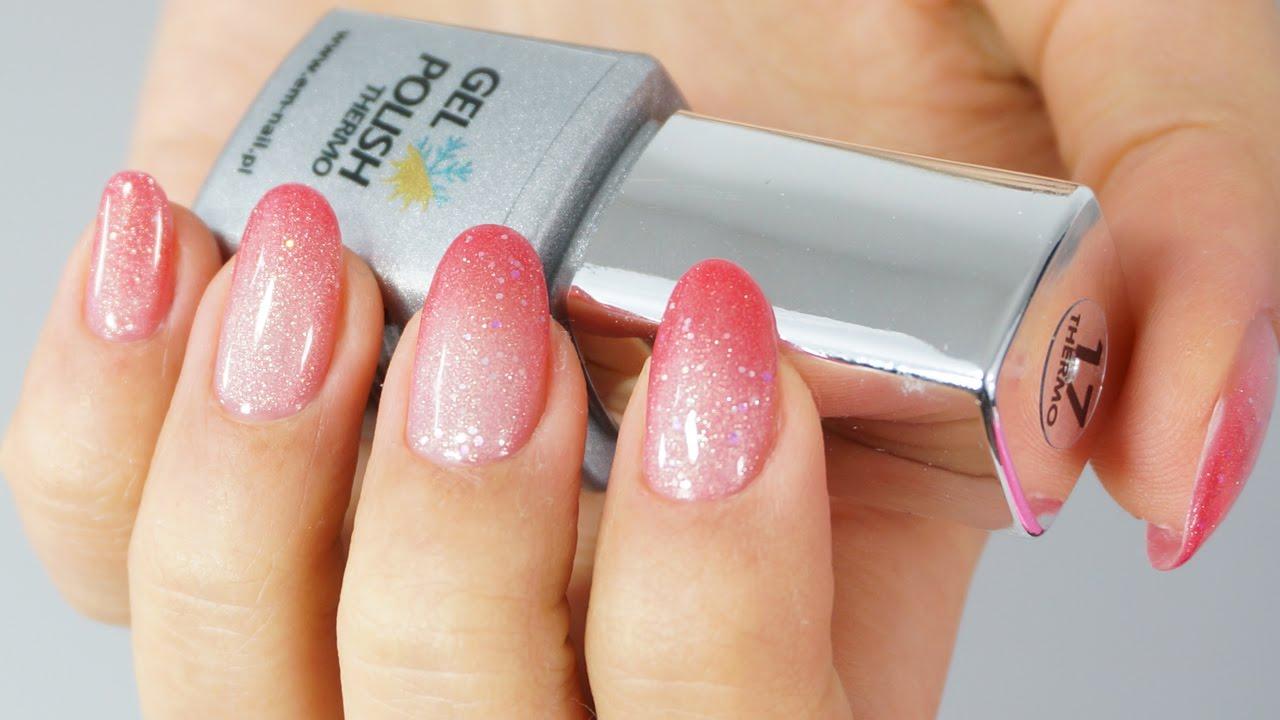 Hybrydy Zmieniające Kolor Test Na żywo Lakierów Hybrydowych Thermo Em Nail
