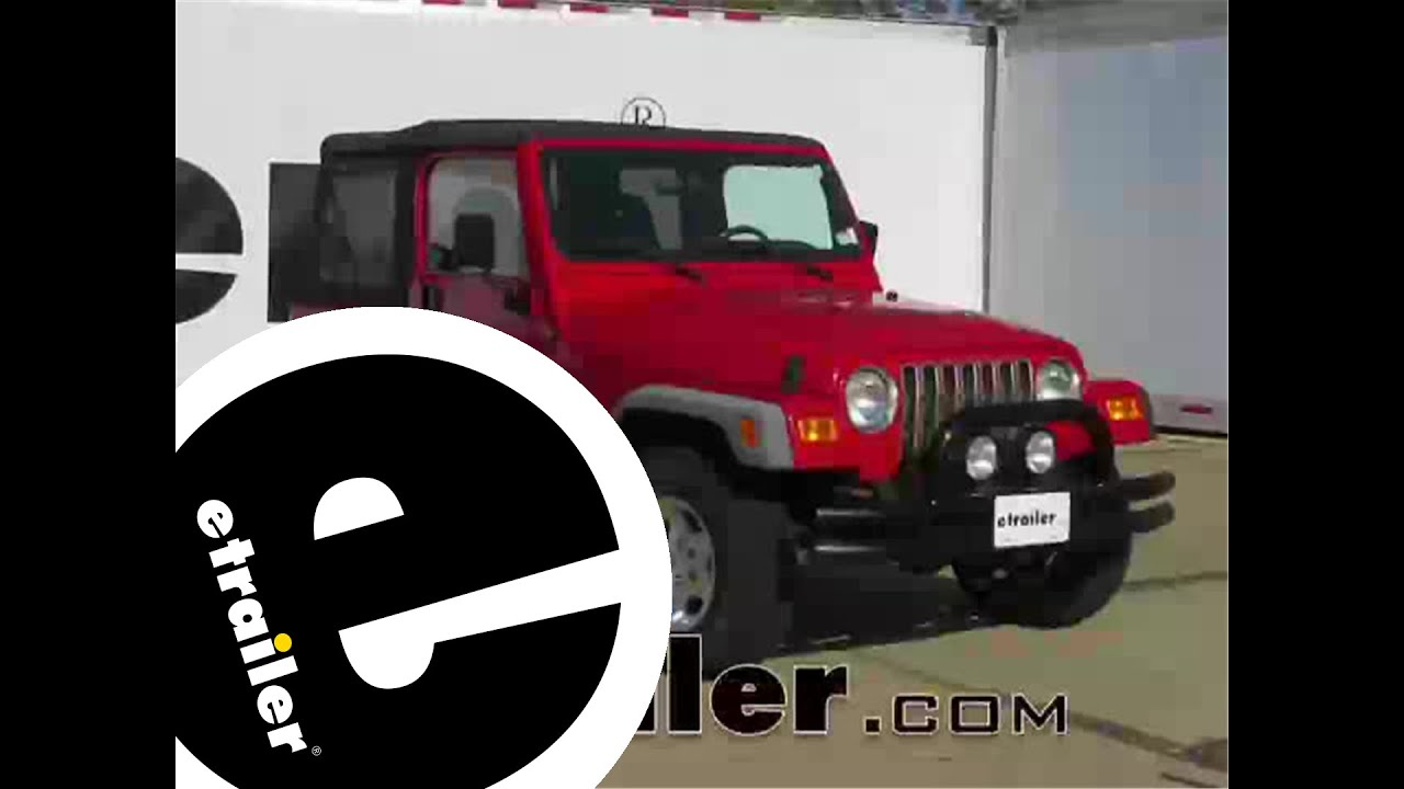 Jeep Wrangler Trailer Wiring Etrailer | Wiring Diagram on