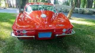 100 image Slide Show Gorgeous Restored to Perfection 1964 327 StingRay Corvette 327ci 365hp