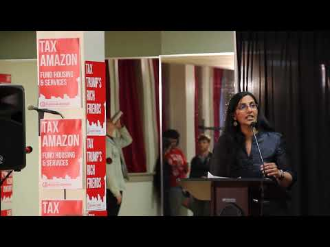 Seattle councilmember Kshama Sawant on taxing Amazon to fund affordable housing.