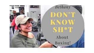 Bethany Don't Know Sh*t About Boxing (w/ Jeff Mayweather)