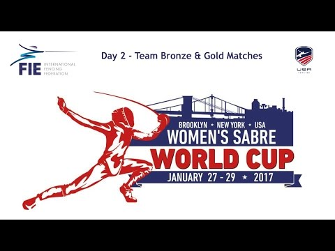 New York Women's Sabre World Cup 2017 - Teams Day 2 - Medal Matches