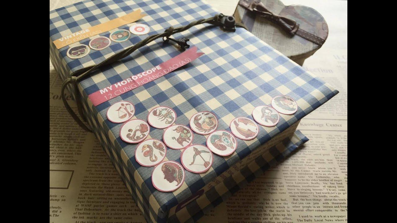 Cách làm hộp quà vintage từ thùng carton cũ – NGOC VANG