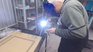 самый легкий  и дешевый способ сварки алюминия инвертором мостоянного тока