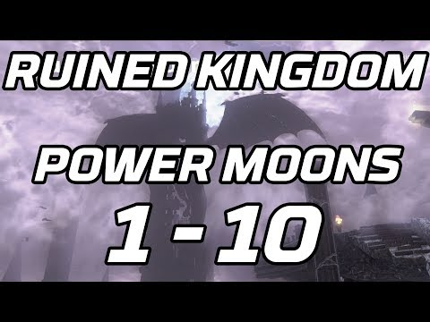[Super Mario Odyssey] Ruined Kingdom All Power Moons 1 - 10 Guide