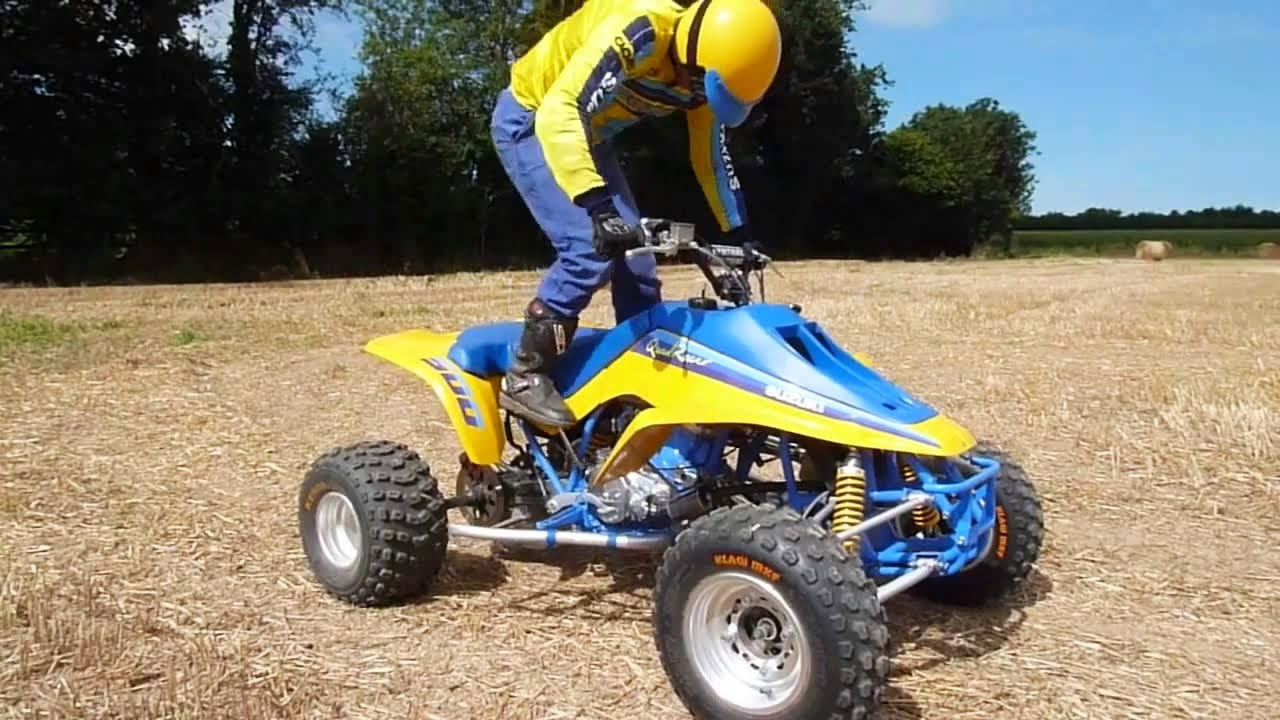 suzuki lt500 quadzilla 1987 1990 king quad atv lt500r quadracer tribute compilation youtube [ 1280 x 720 Pixel ]