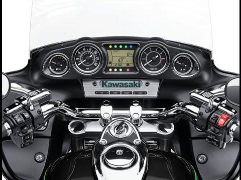 Kawasaki Vulcan 1700 Voyager ABS 2016 Model - YouTube