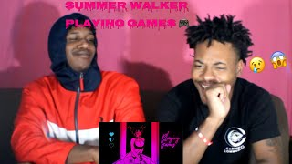 Summer Walker - Playing Games ft Bryson Tiller [Official Music Video]** Reaction