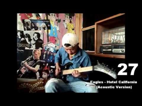 30 In 1 Classic Rock Guitar Solos Cover By Vezo Puro