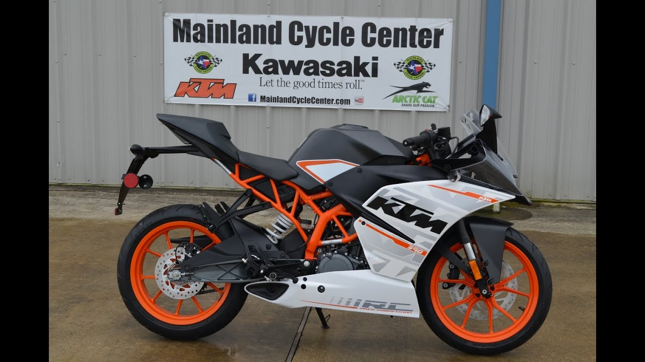mainland's first look at the $5,499 2015 ktm rc390 - youtube