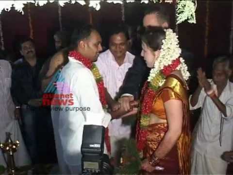 Boy from Kozhikode married German girl in Kerala style thumbnail