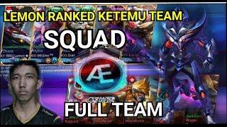 """Mobile Legends """"RRQ'LEMON Pake Hero  ZHASK vs Squad AE Full Team"""""""