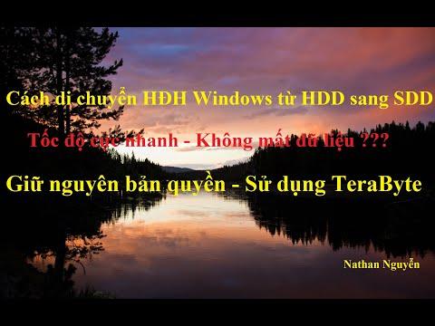 [NTH - 1 Click] Chuyển hệ điều hành Windows từ HDD sang SSD cực nhanh, không mất dữ liệu, bản quyền