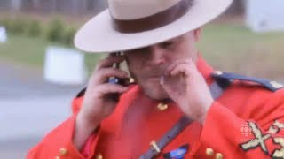 Emotional Pot Smoking Mountie has uniform seized by RCMP