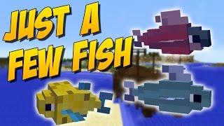 JUST A FEW FISH: Mod De Peces Y Peceras - Minecraft Mod 1.8.9/1.8/1.7.10