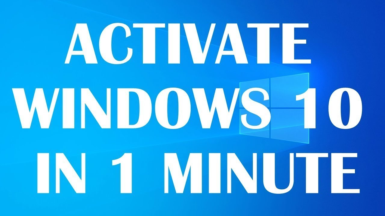 activate windows 10 for free in 1 minute
