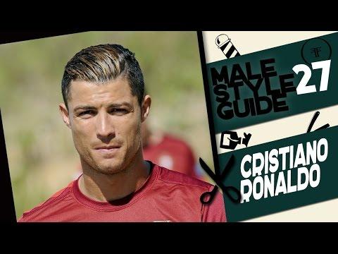Male style guide #27 стрижка как у Криштиану Роналду (Cristiano Ronaldo haircut)