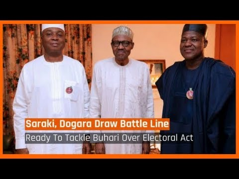Nigeria News Today: Electoral Act: Saraki, Dogara Set To Tackle President Buhari (17/03/2018)