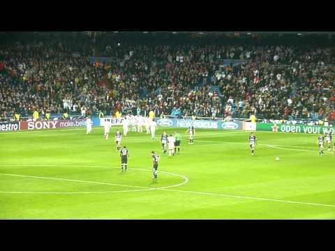 Real Madrid vs Dinamo Zagreb - Goal Celebration
