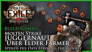 Path of Exile [3.4]: Molten Strike Juggernaut: Uber Elder Farmer - Build Guide