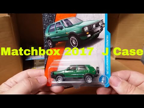 New 2017 J Matchbox Case unboxing let's see what's inside